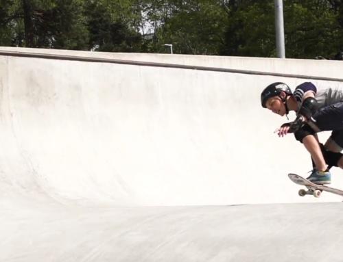 Rörelseglädje, skateboard och om att bryta normer